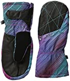 Spyder Women's Empress Ski Mittens, X-Small, Geo Rays Voila Print/Black/Freeze