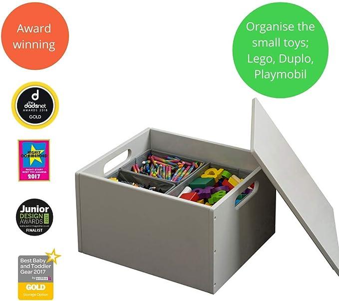 Tidy Books® Caja de Juguetes Original, Almacenaje Piezas Lego ...