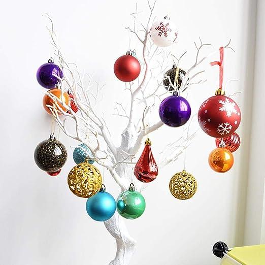 Lxj Bola de la Navidad decoración bola lob pack Toto Toto bola de ...