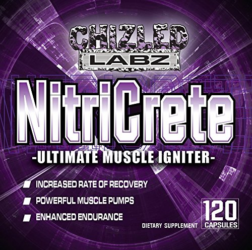 Best Creatine & Nitric Oxide Supplement- NitriCrete, Ultimate Muscle Igniter. Powerful Blend Includes Premium Creatine Monohydrate, Citrulline, and Arginine for Massive Pumps and Peak Performance.