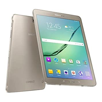 samsung galaxy tab s2 9 7 inch amoled tablet gold octa core