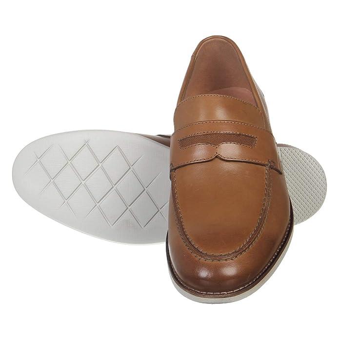 Raharto Way Tan Leather Casual Shoes