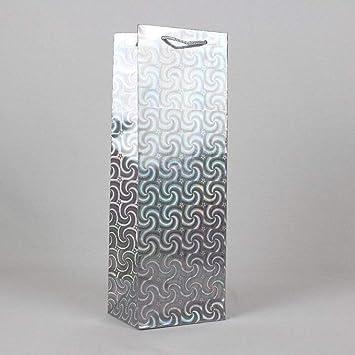 12 bolsas de papel plateado para regalos, ideales para ...