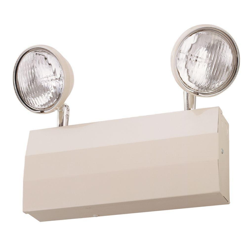 Lithonia Lighting ELTC627 M4 Incandescent Emergency Lighting Unit, White