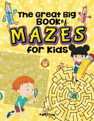 The Great Big Book of MAZES for Kids!
