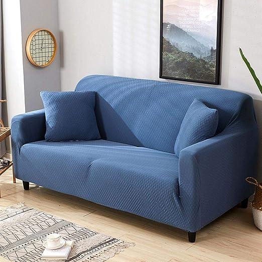 ... para sofás Funda Cubre Sofá Sofá a prueba de agua sofá cojín Funda de sofá grueso color sólido sofá cubierta completa cuatro estaciones anti-gato ...