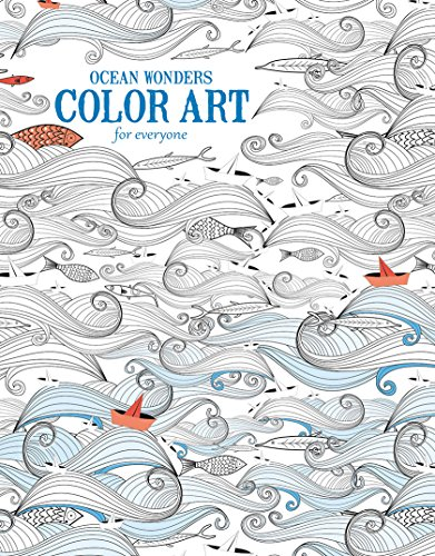 Ocean Wonders | Color Art for Everyone - Leisure Arts (6703)