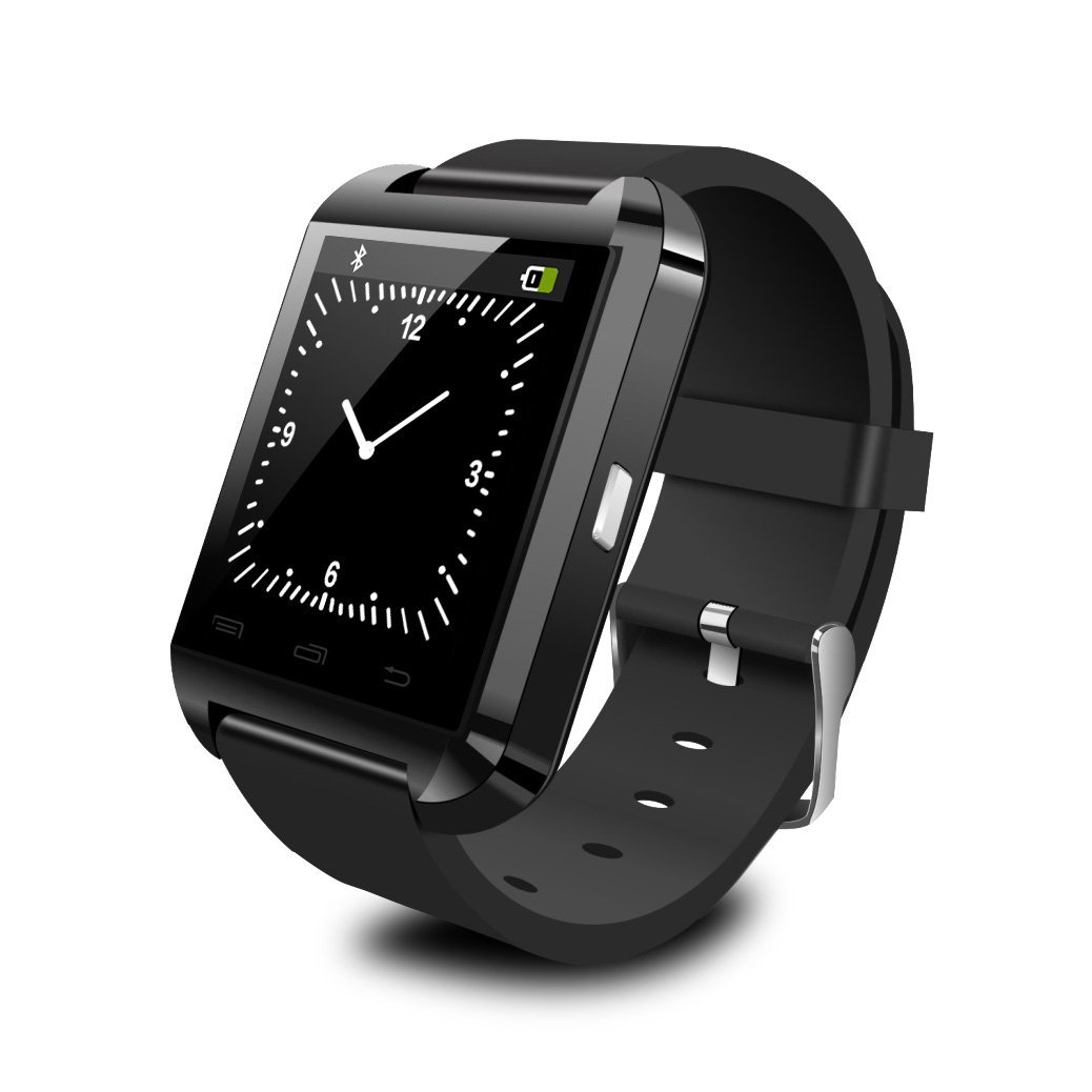 KingDo Bluetooth Smart Watch Android Smartwatch (Black)