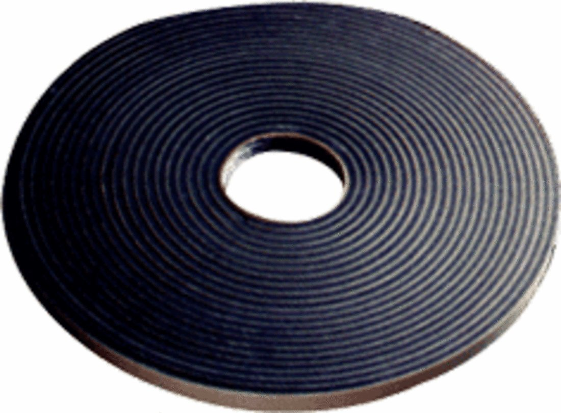 CRL 1/16'' x 3/8'' Black Double Sided Glazing Tape