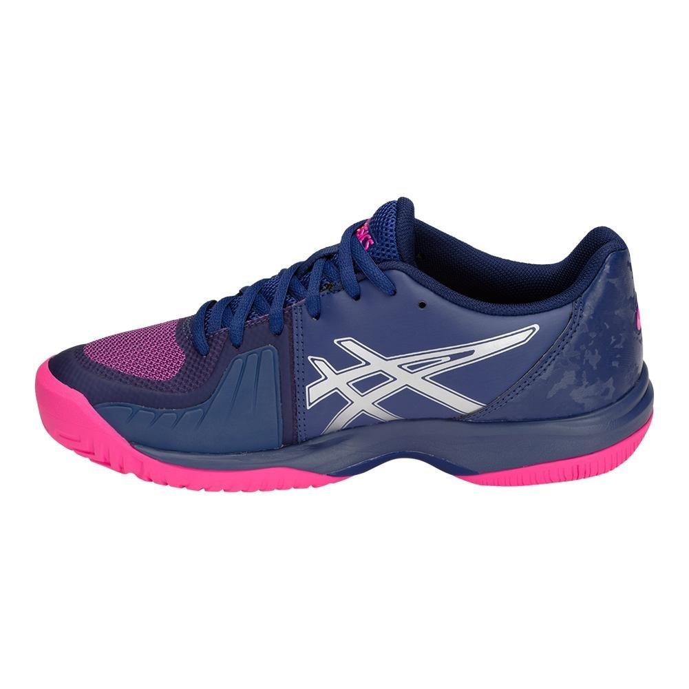 ASICS E850N Women's 7.5 Gel-Court Speed Shoe B077MTKBYR 7.5 Women's B(M) US|Blue Print/Pink Glow 676803