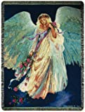 Manual Inspirational Collection 50 x 60-Inch Tapestry Throw, Messenger of Love