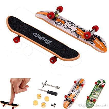 Amazon com: 4 Finger Skateboards  Skateboard Build Kits Tech