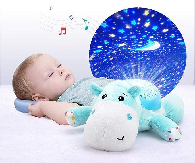 Chigant 2 in1 Luz Nocturna y proyector de Estrellas para bebé ...
