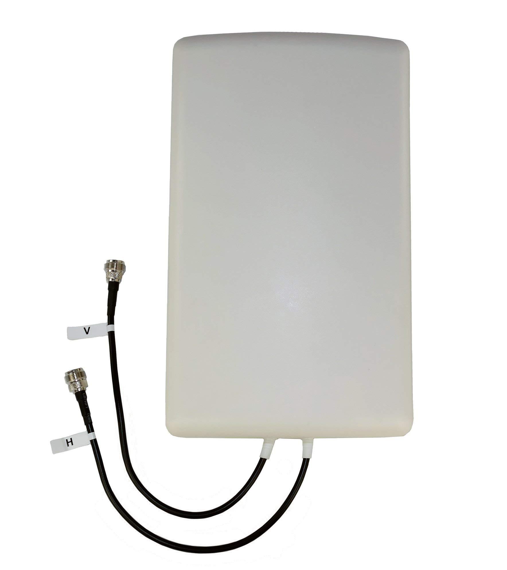 Proxicast 4G/LTE Cross-Polarized (MIMO) 7-10 dBi High-Gain Fixed-Mount Panel Antenna (Renewed)