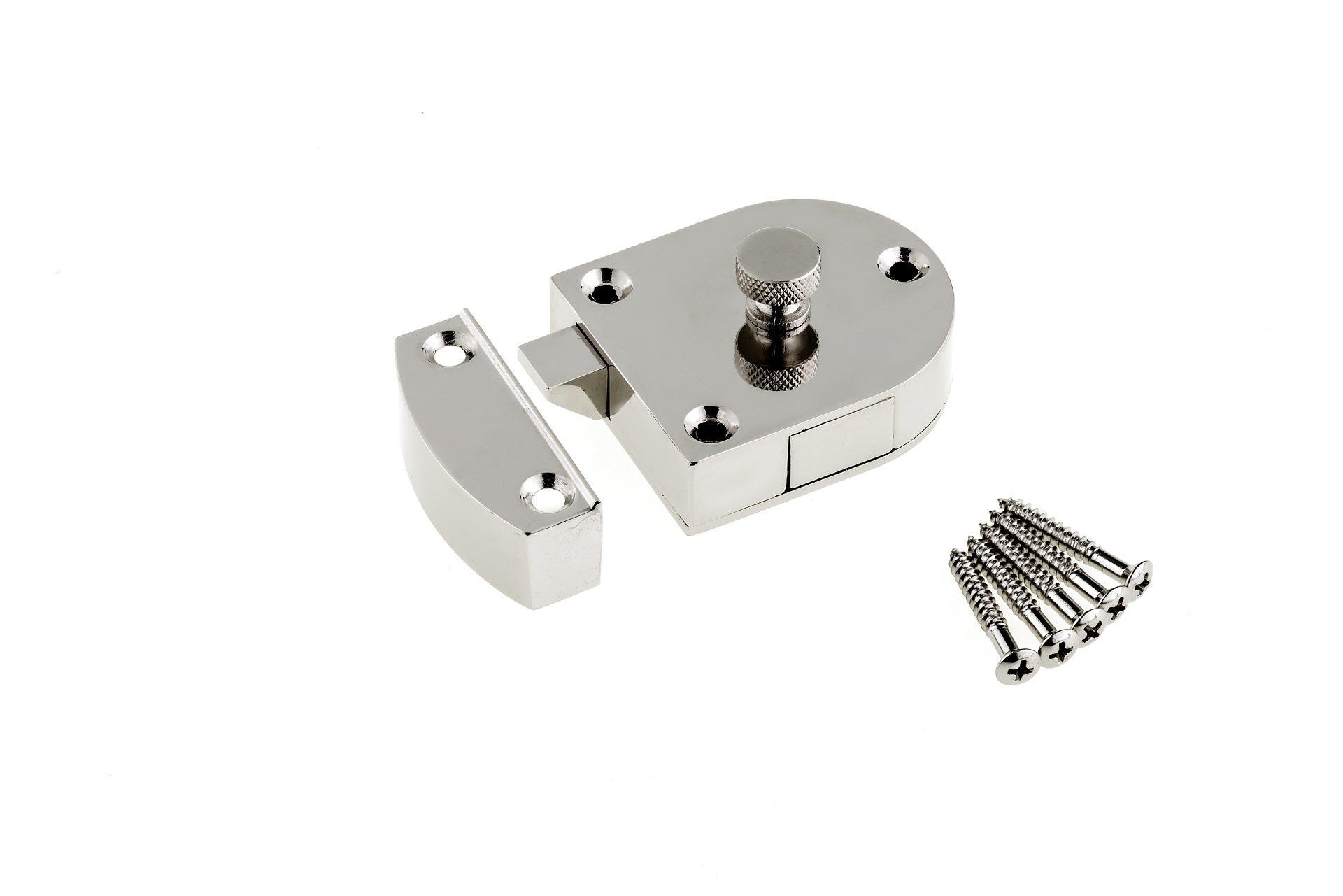 Richelieu Hardware - BP600100 - Secret Gate Latch - 600 - Metal  Finish