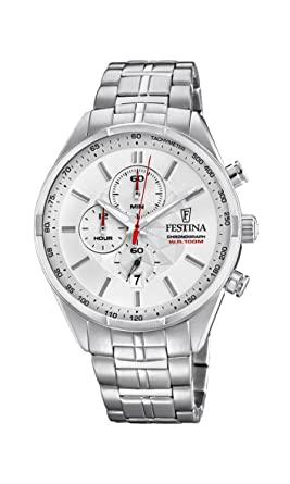 087768a28d Image Unavailable. Image not available for. Color: Festina Timeless  Chronograph F6863/1 ...