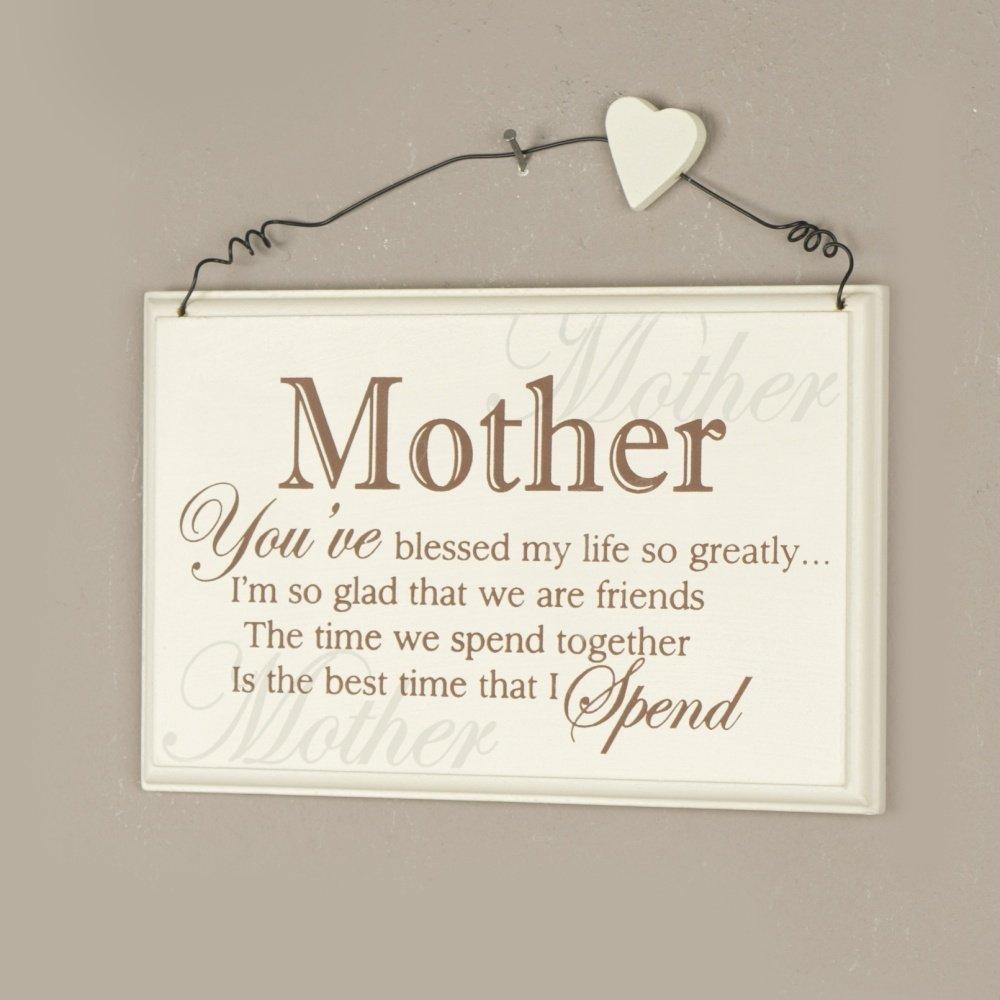 Mummy MDF Craft Wording Mummy gift idea/'s Embellishment Mummy words