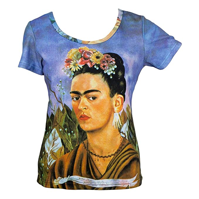 d0b4c622f3e4a Image Unavailable. Image not available for. Color: JOE COOL Clothes Frida  Kahlo Self Portrait ...