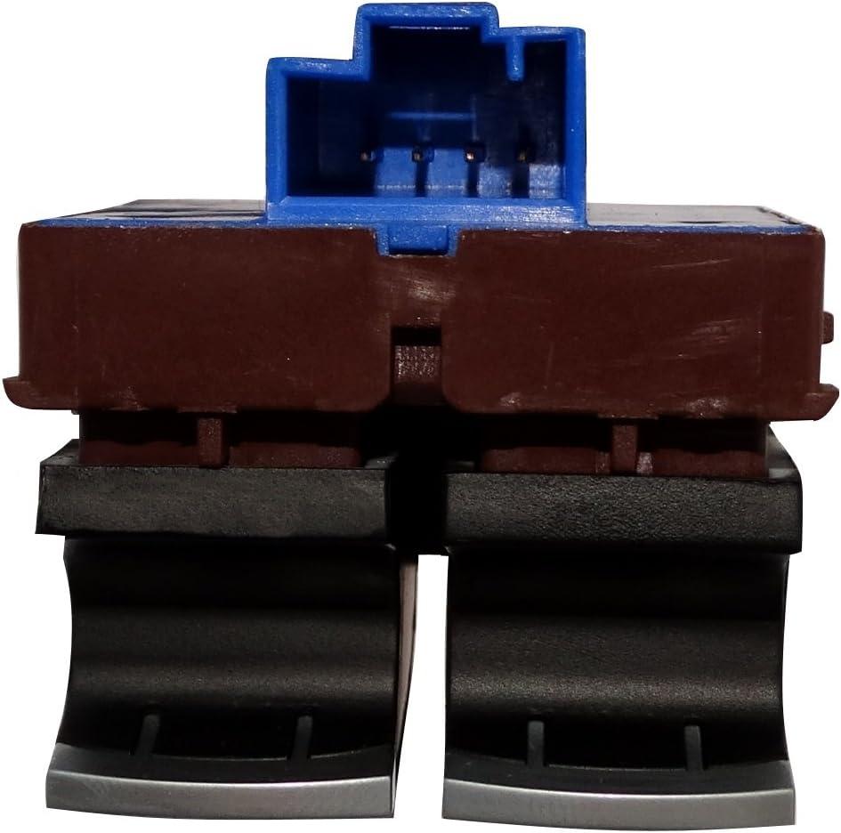Interruttore a pulsante per apertura serbatoio carburante e tronco compatibile con 35D959903B per auto Aerzetix