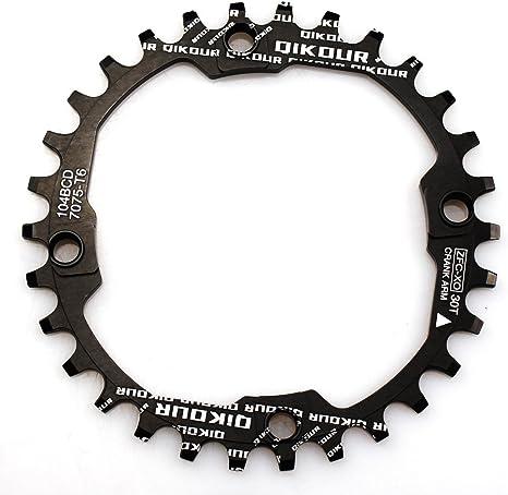 Plato para bicicletas de 30 dientes anchos y estrechos con cuatro ...