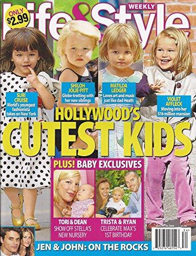 HOLLYWOOD'S CUTEST KIDS l Suri Cruise l Shiloh Jolie-Pitt l Matilda Ledger l Violet Affleck - August 25, 2008 Life & Style
