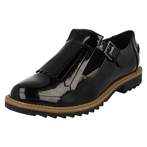 Griffin Mia Casual Shoes Black Patent