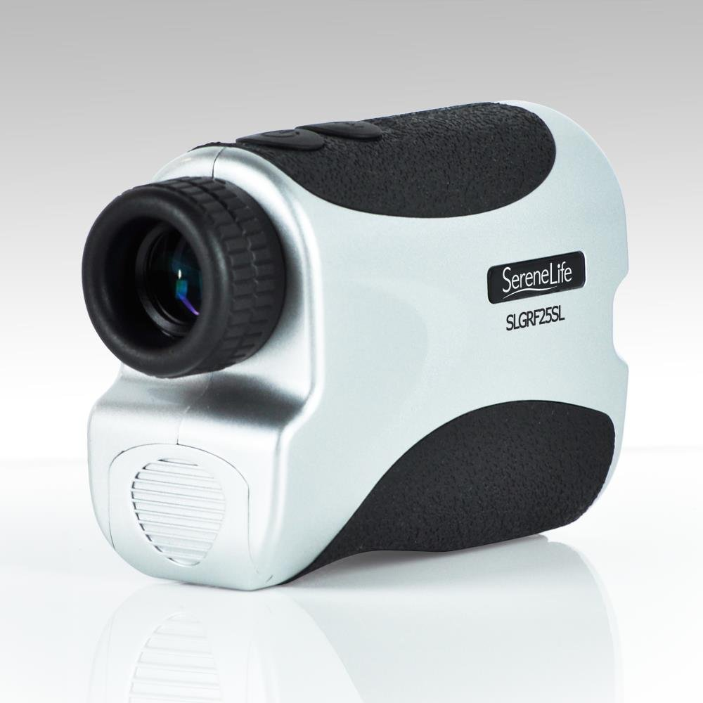 SereneLife Premium Slope Golf Laser Rangefinder with Pinsensor - Digital Golf Distance Meter - Compact Design -With Case by SereneLife (Image #4)
