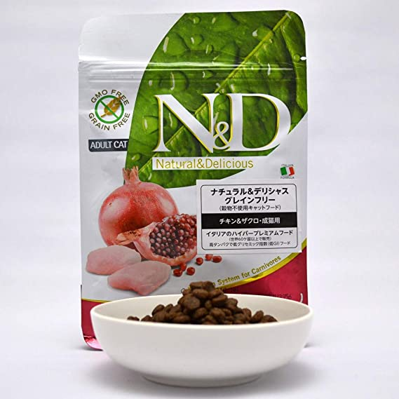 Farmina N&D Grain Free Adult pollo para gatos 300 gr.: Amazon.es: Productos para mascotas