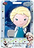 Disney Frozen Elsa Brush & Olaf Mirror Set