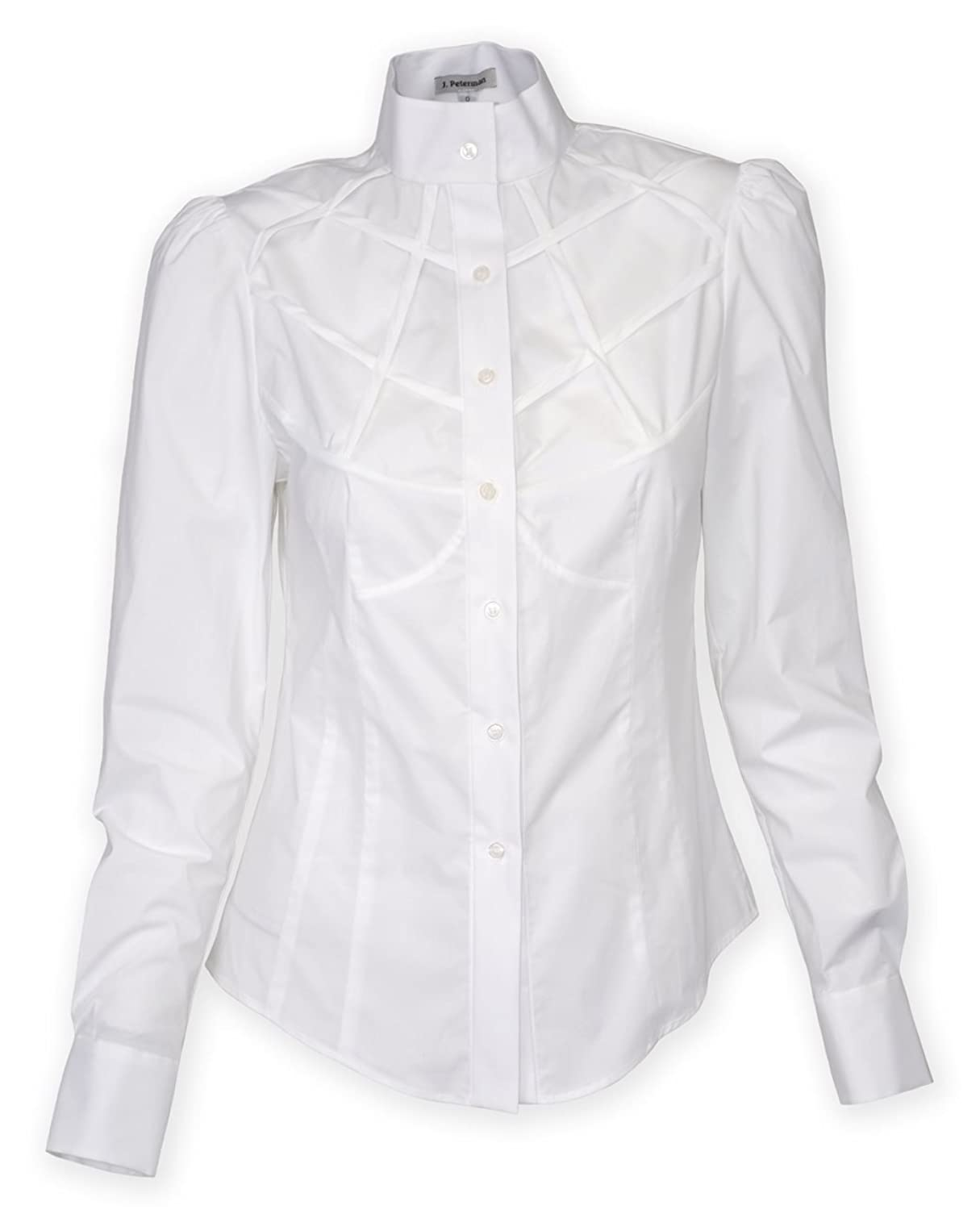 Edwardian Style Blouses Mrs. Jones Lattice Yoke Blouse $205.85 AT vintagedancer.com