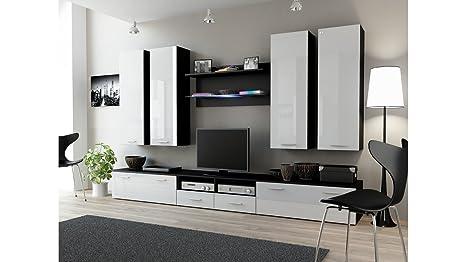 Mobili Porta Tv Da Camera Da Letto : Bmf dream iii moderno lucido da parete entertainment unit floor