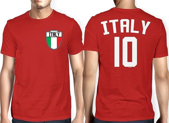 HAASE UNLIMITED para Hombre Italia - Italia, Italiano - Fútbol Fútbol Camiseta - Rojo -: Amazon.es: Ropa y accesorios