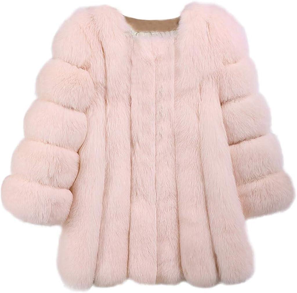 Pandaie Womens Winter Coat Fuzzy Sherpa Fleece Jacket Faux Fur Warm Plush Coat Teddy Fleece Jacket Outwear