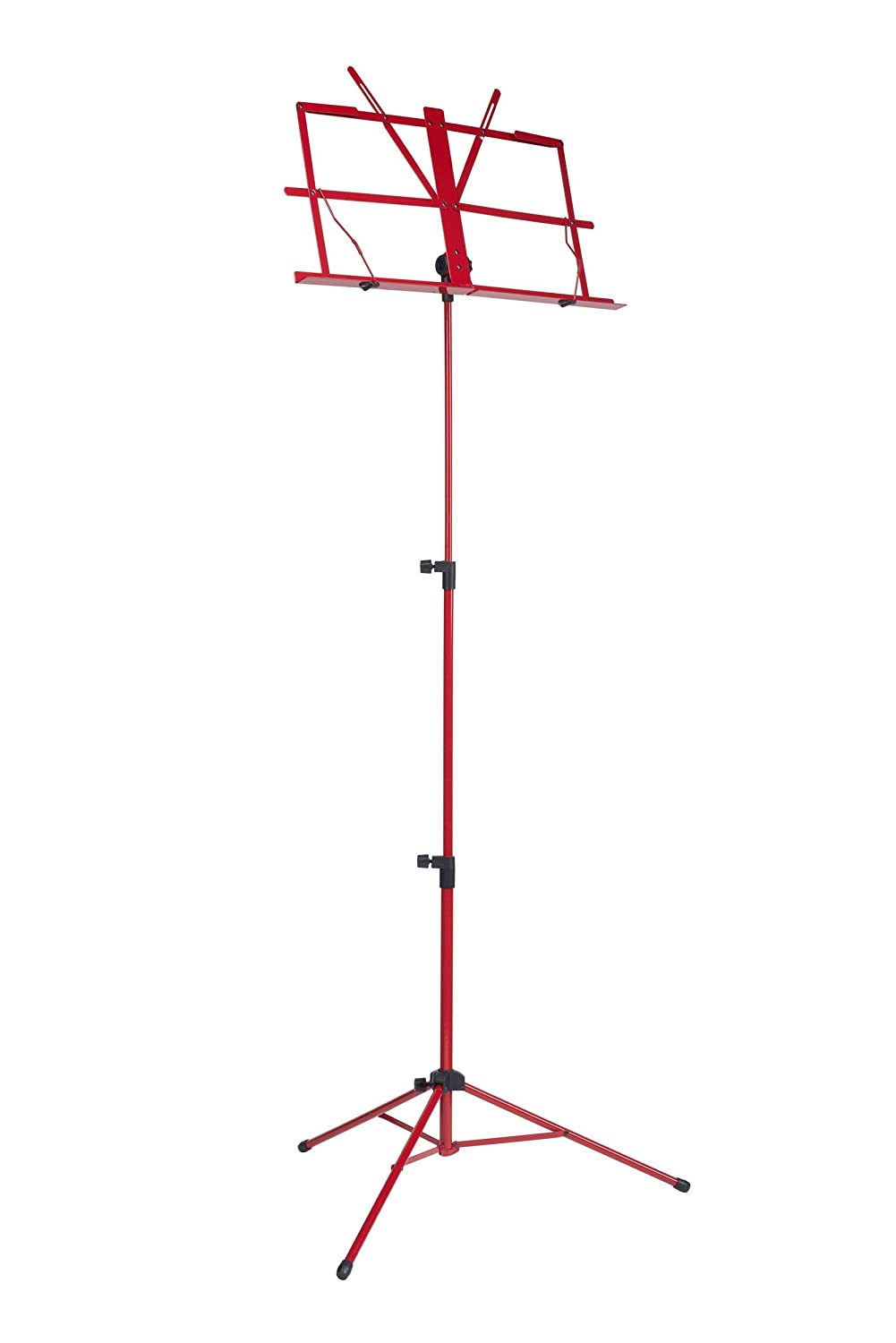 RockStand RS10010R Standard Music Stand rojo