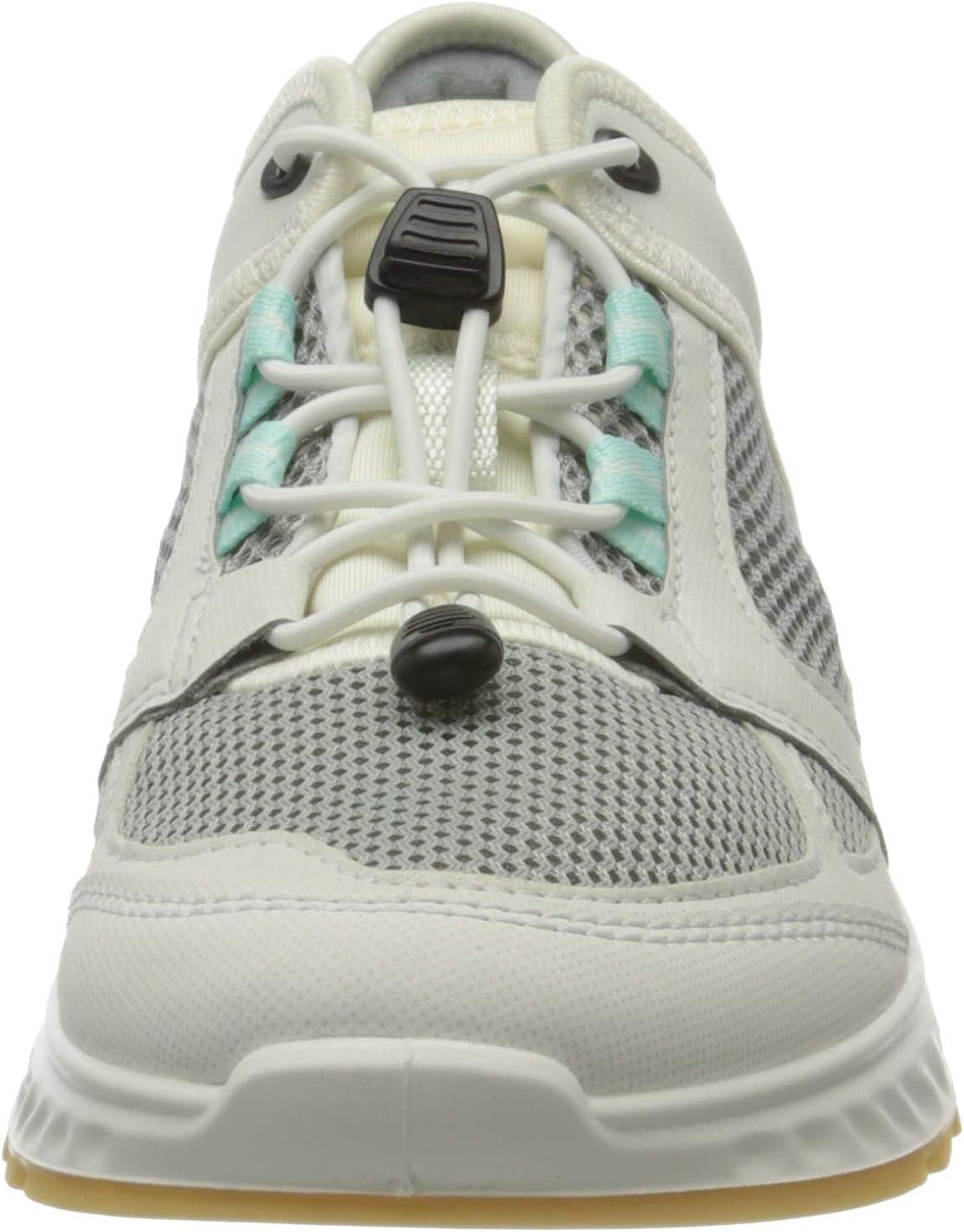 ECCO Exostridew, Sneaker Donna Bianco Shadow White Eggshell Blue 51777
