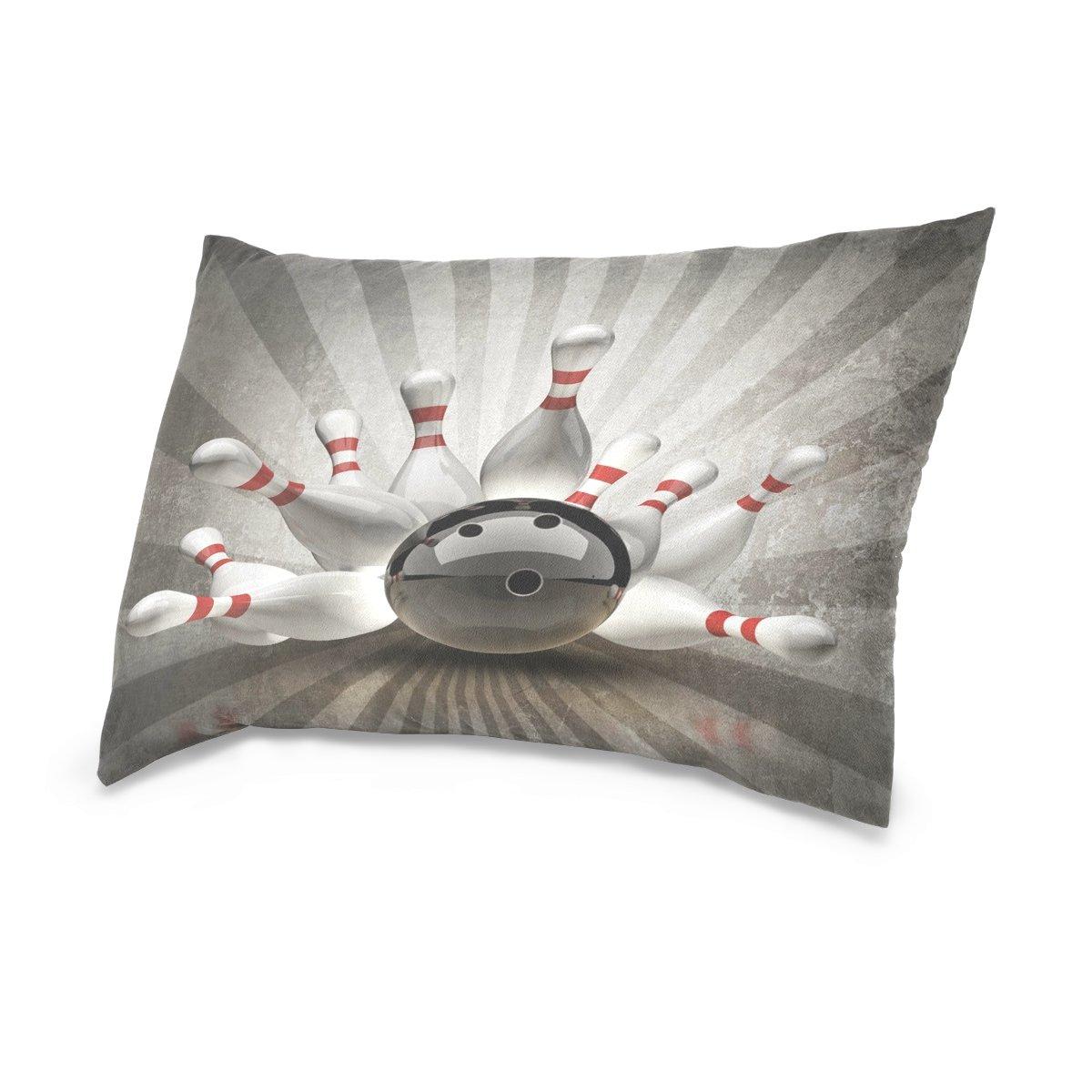 ALAZA - Funda de almohada con diseño de bolas de lazo 3D ...