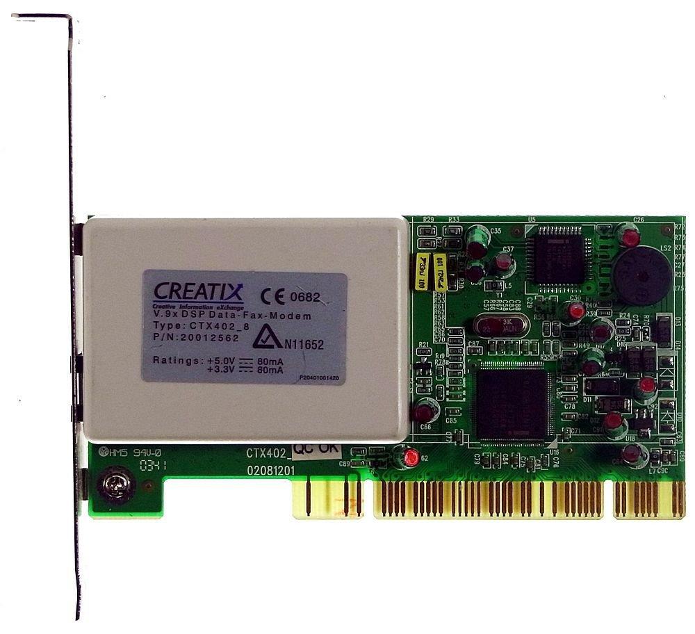 CREATIX V 90 HAM MODEM WINDOWS XP DRIVER