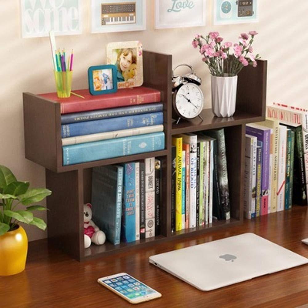 Gquan Estante de pared Libreria Pie escritorio Rack multifuncional ...