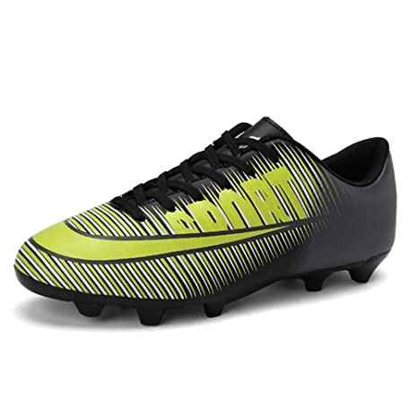 87ca883be Amazon.com: FCSHOES Indoor Soccer Cleats Shoes for Boys Kids Crampon Football  Boots Shoes for Man The Spike Soccer Sneakers: Sports & Outdoors