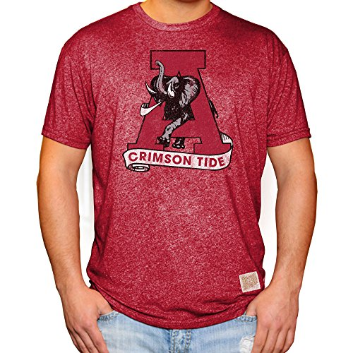 Elite Fan Shop Alabama Crimson Tide Retro Tshirt - XXL