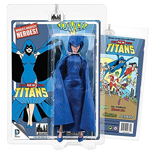 The New Teen Titans Retro 8 Inch Action Figures Series 1: Raven by DC Comics ()