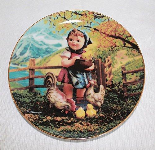 (The Danbury Mint M I Hummel Collector plate