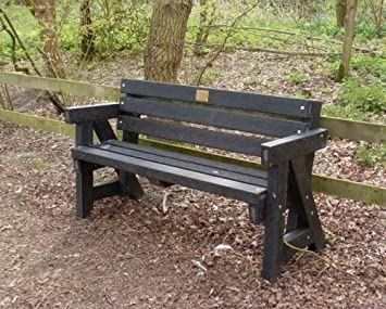 Recycled Plastic Garden Furniture Uk Recycled plastic garden bench amazon garden outdoors recycled plastic garden bench workwithnaturefo