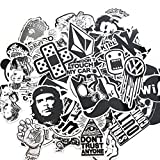 Wocst 60PCS Random Cool Graffiti Stickers Decals Vinyls Music Film Vinyl ...