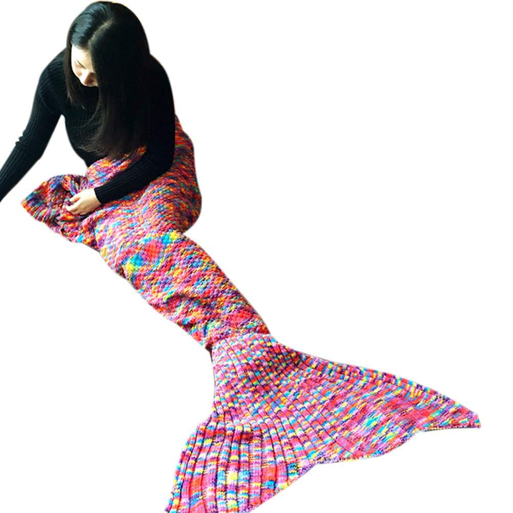 Very cute mermaid blanket.