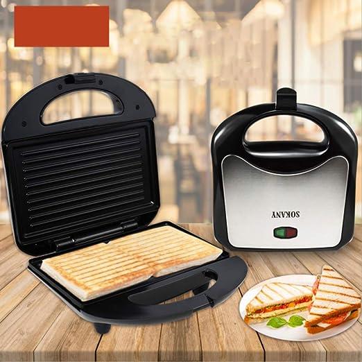 Sguan-wu 750W Sandwich Maker Mini Grill Tostadora Cocina Desayuno ...