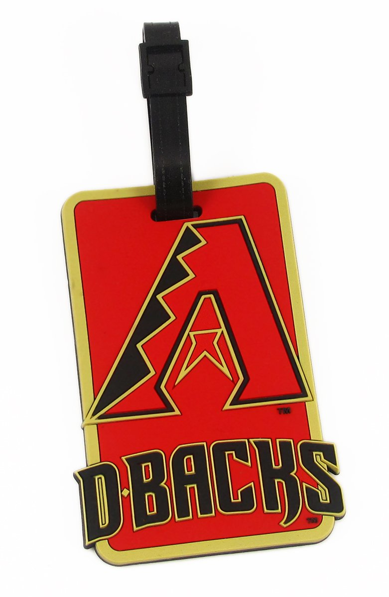Arizona Diamondbacks – MLB Soft Luggageバッグタグ B0036M8W7C