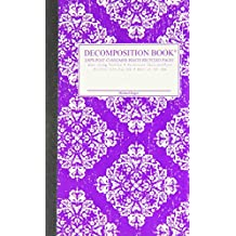 Victoria Purple Pocket-Size Decomposition Book: College-ruled Composition Notebook With 100% Post-consumer-waste Recycled Pages