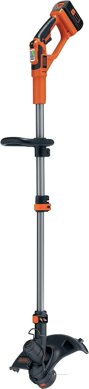 BLACK+DECKER GLC3630L20-QW - Cortabordes a batería 36V, 2Ah, ancho de corte 30 cm
