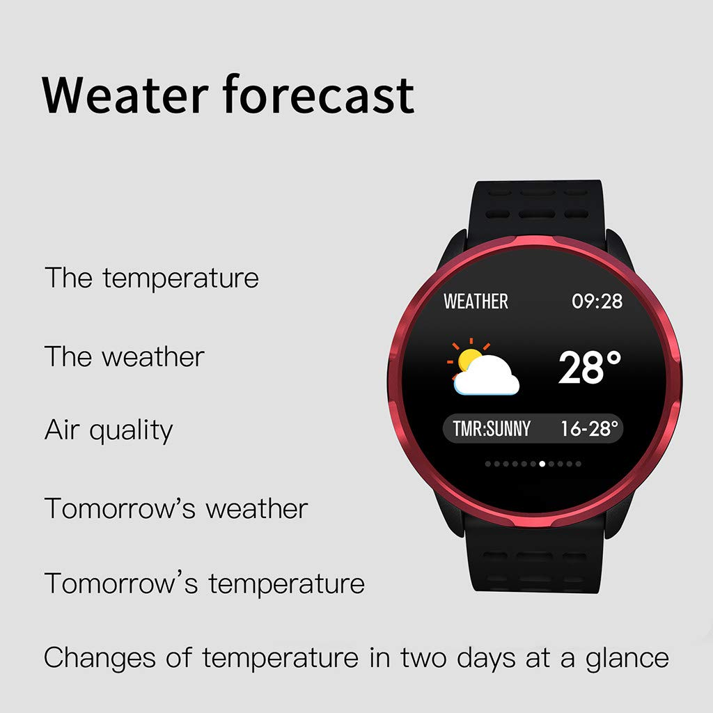 Amazon.com : Libison Smartwatch, Smart Watch Android iOS ...